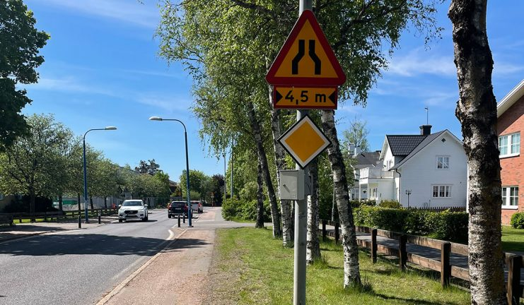 Trafiksituationen vid Hjortsjöskolan kontrolleras