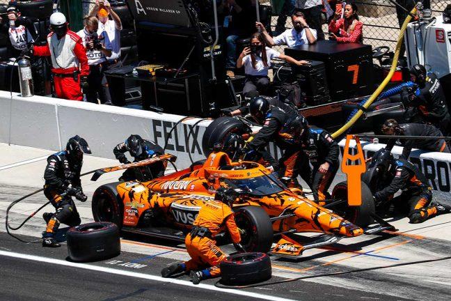 Depåstopp kostade Felix segern i Indy 500