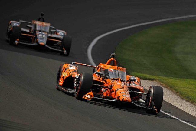 Felix kvalade in som 14:e till Indy 500