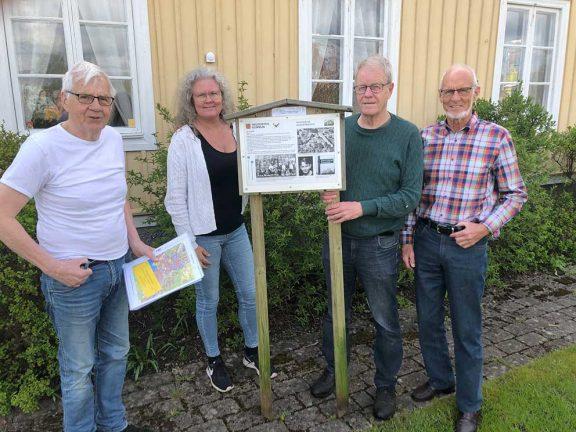 Lokalhistoria och motion förenas i Minnespromenader