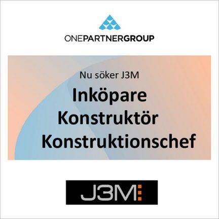 Onepartnergroup erbjuder tre jobb