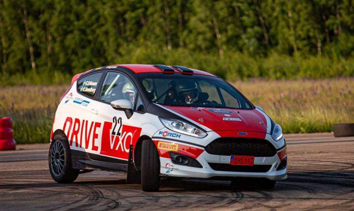 Tredjeplats för Carl Eriksson i SM-rally