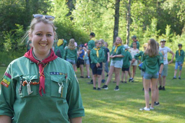 Uppskattat scoutläger på Sjöbo