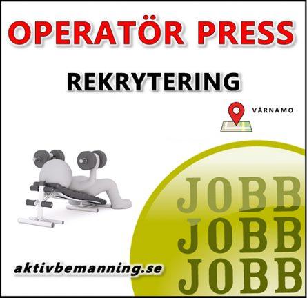 Pressoperatör i Värnamo