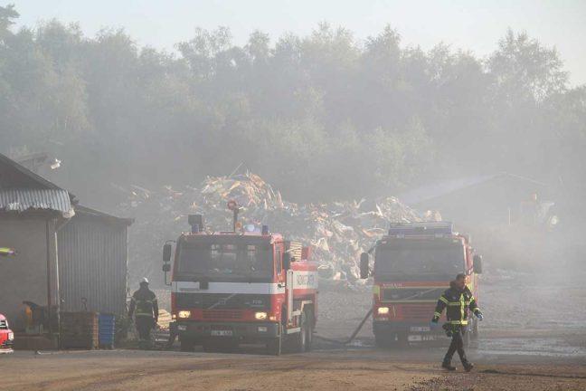 Branden i Hagshult: Kan vara anlagd