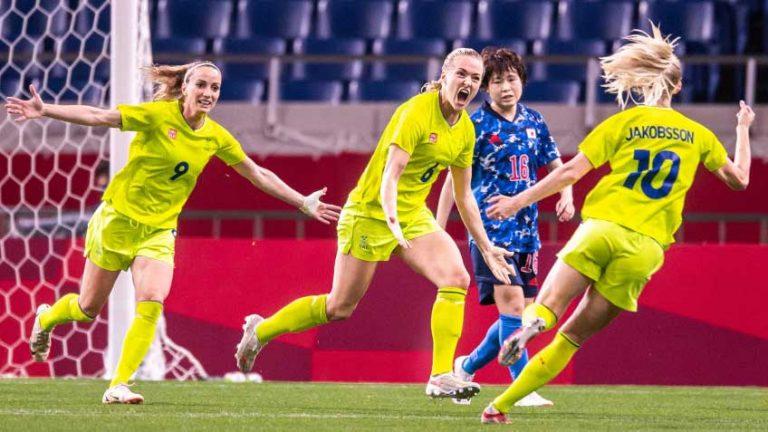 Sverige till semifinal mot Australien