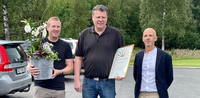 Anderssons Mekaniska utsågs till Årets företagare