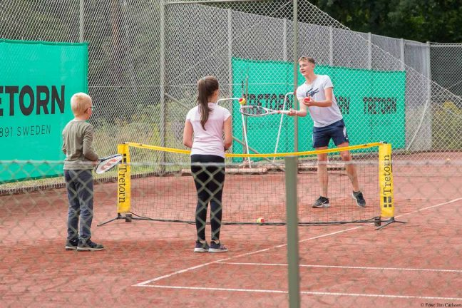 Stort intresse för tennisens dag