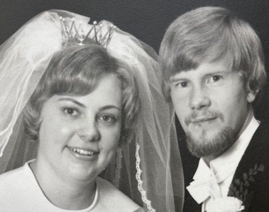 Ingegerd och Lars-Erik Hägg firar guldbröllop