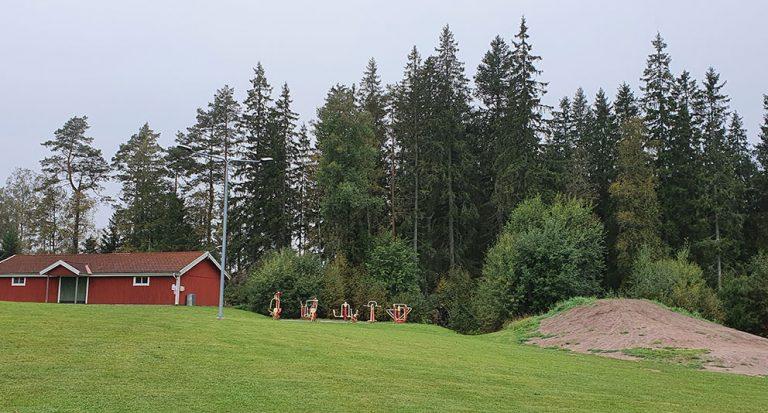 Skogsåtgärder görs vid friluftsområde