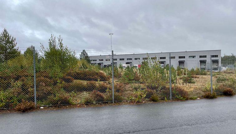Industrilokal byggs norr om travbanan